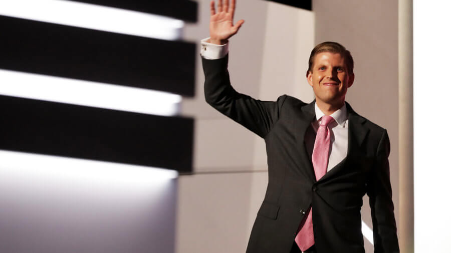 Eric Trump Excited To Be President Once Dad Is Impeached