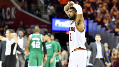 Kyrie Questions If He Really Scored Any Points At All