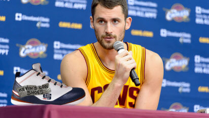 Kevin Love's New Sneaker Line Clearly Just Hand-Me-Downs From LeBron