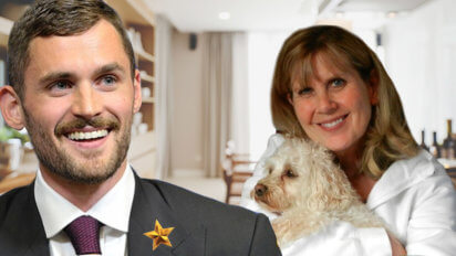 Kevin Love Shows Mom Gold Star Sticker LeBron Gave Him
