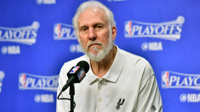 "Popovich: ""We Won, But More Importantly We Didn't Show Emotion"""