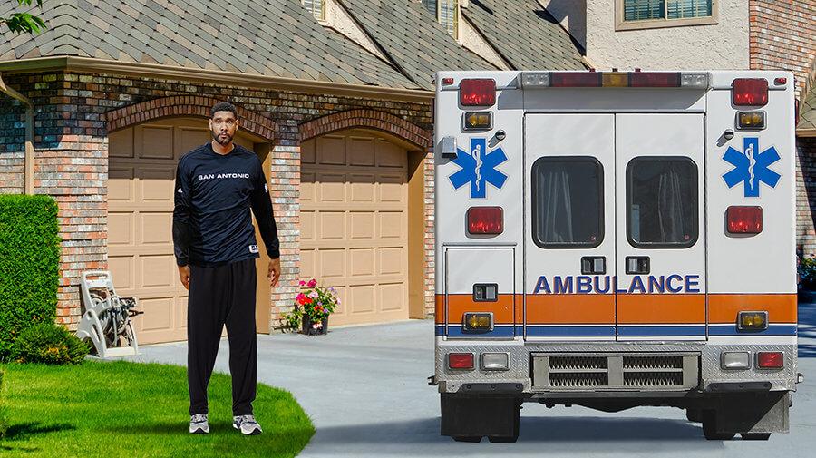 San Antonio Paramedics Take Tony Parker Straight To Tim ...