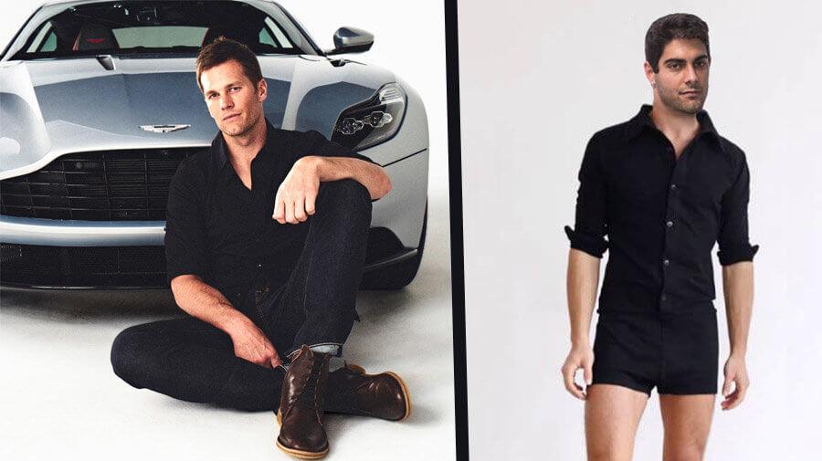 Brady To Design Aston Martin, Garoppolo To Design Line Of Male Rompers