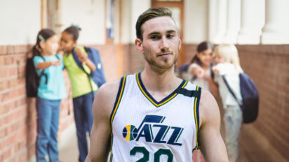 Hayward Visits Middle School To Toughen Up For Draymond's Trash Talk