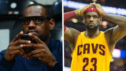 LeBron's Hairline Requests Trade Out Of Cleveland