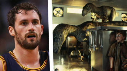 "Oh Boy: Love Watched Every ""Jurassic Park"" Movie To Prep For Raptors"