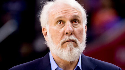 Gregg Popovich, High On Molly, Won't Stop Talking to Sideline Reporter