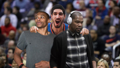 """Kanter: """"Russ, KD, and I Are On Speaking Terms And Best Friends Again!"""""""