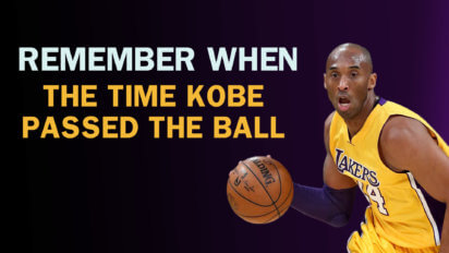 The Time Kobe Passed | Remember When