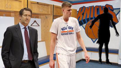 Knicks Trying To Fill Literal Carmelo-Sized Hole In Locker Room