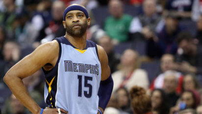 Vince Carter At Summer League To Ask What Cassette Tapes Everyone's Into