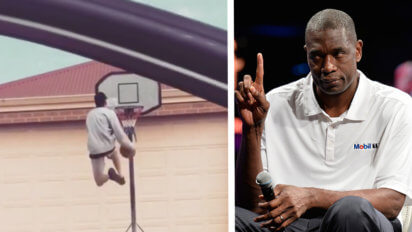 Dikembe Mutombo Vows To Curb Drive-By Dunking