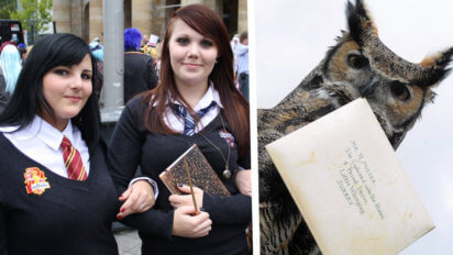 Dumb: Kids That Go To Hogwarts Are Still Using Owls Instead Of Phones