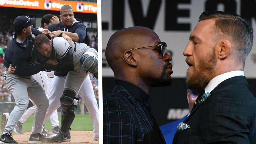 Yankees, Tigers To Be Undercard For Mayweather-McGregor