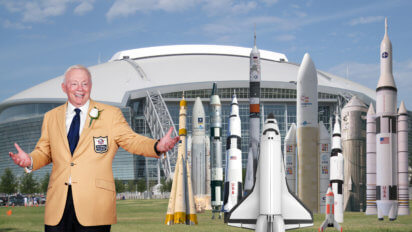 Jerry Jones One-Ups Patriots By Purchasing 11 Spaceships