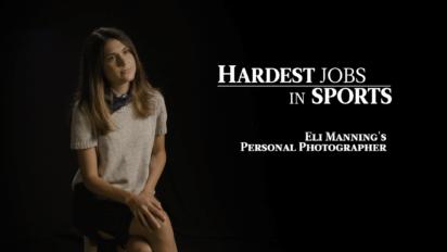 Eli Manning Photographer   Hardest Jobs in Sports