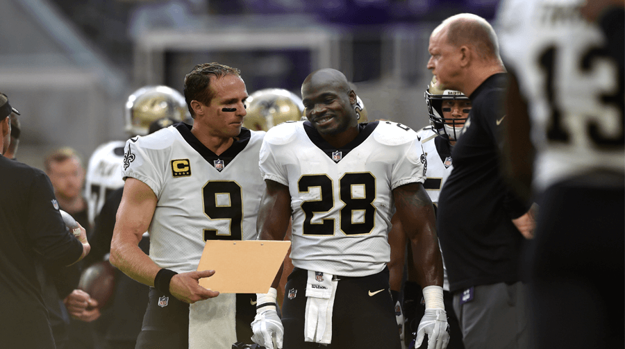 Saints Playbook Now Mostly Retirement Advice