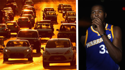 Oklahoma City Traffic Building Up Due To Bridges Being Burned By Durant
