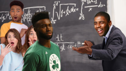 Kyrie Breaks Jaylen Brown's Intellectual Ankles With Flat-Earth Science